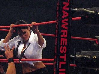 Traci Brooks - Brooks at a TNA event.