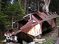 Mt Igman French APC in which members of 1995 US Peace Mission perished..JPG
