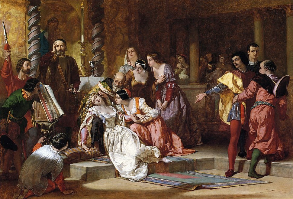 Much Ado About Nothing by Alfred Elmore 1846