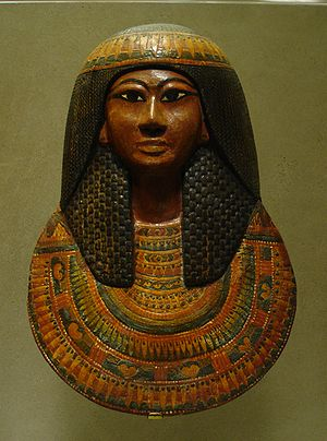 TT1 - Mask of Khonsu, son of Sennedjem