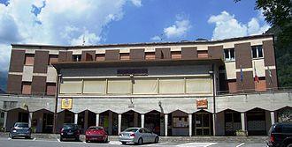 Angolo Terme - the Town Hall