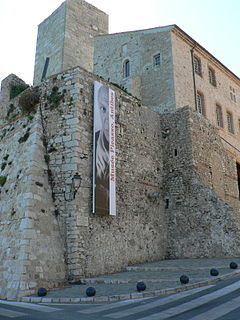 museum in Antibes, France