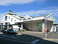 Musashi-ranzan Station West Entrance 20111211.JPG