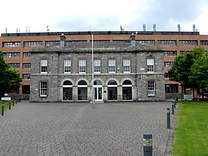 Beggars Bush Barracks - The former central garrison headquarters at Beggars Bush Barracks