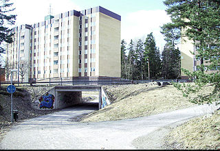 district in Uppsala, Sweden