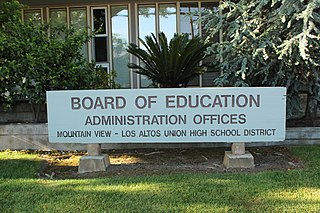 Mountain View–Los Altos Union High School District School district in California, United States