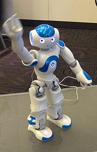 Un robot NAO en 2014.