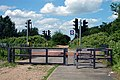 NCN Route 5, Road crossing safety barrier - geograph.org.uk - 1368842.jpg