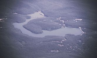 Monksville Reservoir - Monksville Reservoir, New Jersey, seen from the south. Photo: Erlend Bjørtvedt
