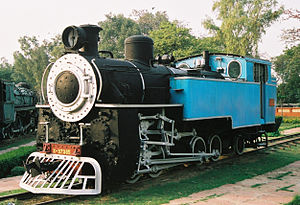 Nilgiri Mountain Railway X class - Nilgiri Mountain Railway locomotive No.37385 preserved in the Delhi Railway Museum.