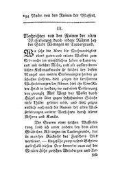 Nachrichten von den Ruinen der alten Wasserleitung durch irdene Röhren bey der Stadt Röttingen im Taubergrund, S. 294-298