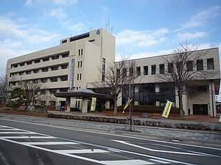 Nanao, Ishikawa City in Chūbu, Japan