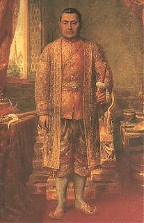 Third king of Siam of the Chakri Dynasty