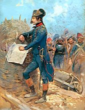 Bonaparte at the Siege of Toulon (Source: Wikimedia)