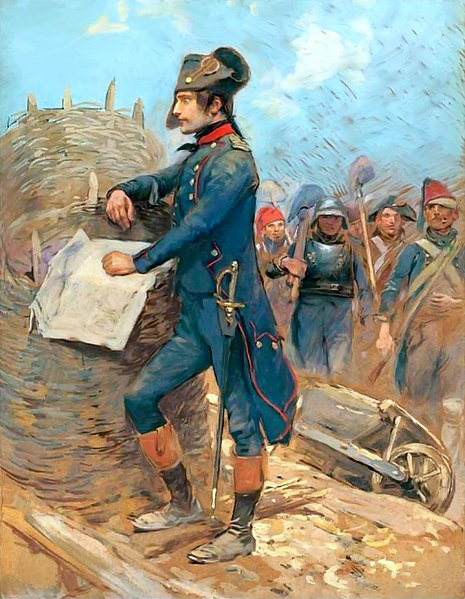 Napoléon - Peinture - Siège de Toulon - Lieutenant colonel - Officier - Armée - 1793 - France - SchoolMouv - Histoire - CM1