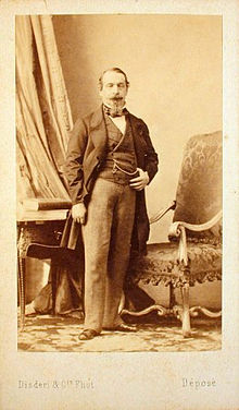 1859 Carte De Visite Of Napoleon III By Disdri Which Popularized The CdV Format
