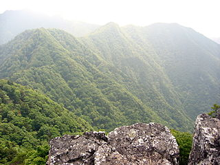 Mount Ōmine mountain in Nara Prefecture, Japan
