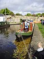 Narrowboat at Trevor Basin - geograph.org.uk - 1570282.jpg