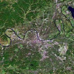 Nashville Landsat