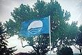 Nea Vrasna blue flag.jpg