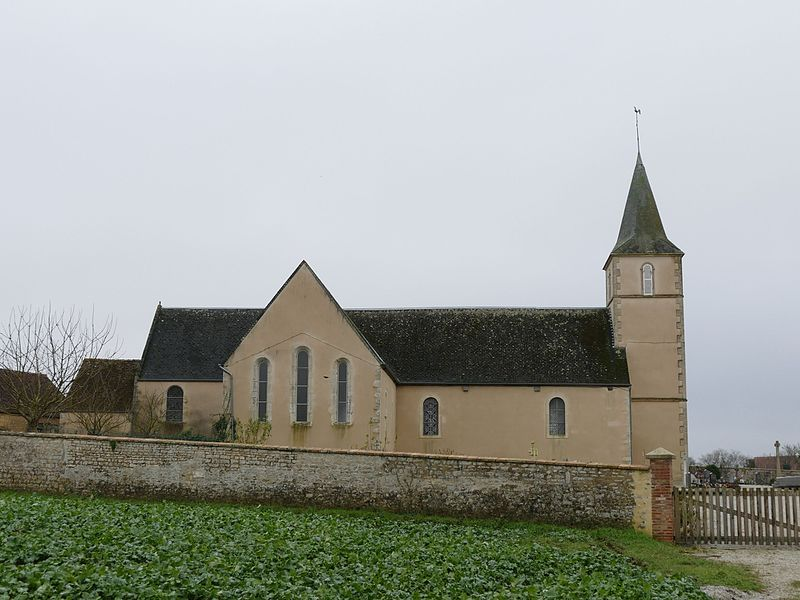 Our Lady's church in Neauphe-sous-Essai (Orne, Normandie, France).