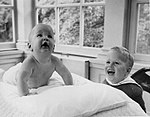 Neil and Jeb Bush in 1955 (2837).jpg