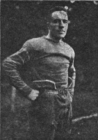 Neil Edmond (American football) - Edmond playing for Sewanee c. 1915