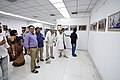 Nemai Ghosh Accompanied By Biswatosh Sengupta Visiting 1st Four Ps Group Exhibition - Kolkata 2019-04-17 5270.JPG
