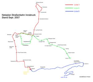 Trams in Innsbruck - Wikipedia