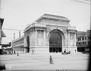Southern Railway Terminal (New Orleans) - New Orleans Terminal on Canal Street