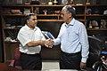 New DG Anil Shrikrishna Manekar And Retired DG Ganga Singh Rautela - NCSM - Kolkata 2016-02-29 1829.JPG