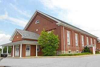 Pequea Township, Lancaster County, Pennsylvania - Mennonite church in New Danville