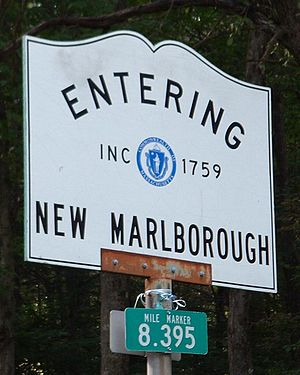 New Marlborough, Massachusetts - Entering New Marlborough - Inc. 1759