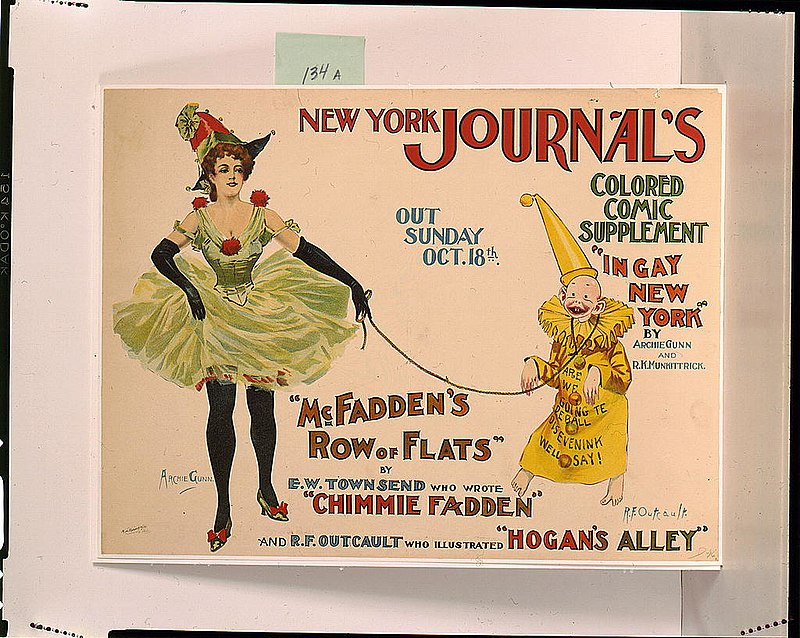 New York Journal's colored comic supplement