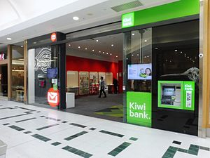 New Zealand Post - New Zealand Post and Kiwibank shop at The Palms shopping centre in Shirley, Christchurch