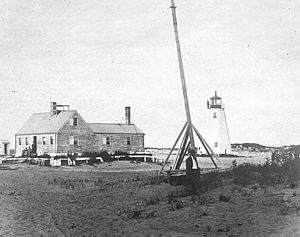 Newburyport Harbor Light - Image: Newburyport Harbor Light 1793 tower MA