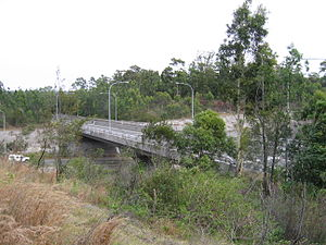 Hunter Expressway - Image: Newcastle Link Rd Bridge