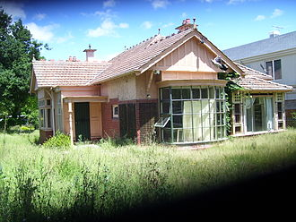 Gough Whitlam - Ngara, Gough Whitlam's birthplace, now demolished
