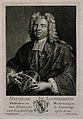 Nicholas Saunderson (Sanderson). Line engraving by C. F. Fri Wellcome V0005223ER.jpg