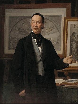 Wilhelm Marstrand - Niels Laurits Høyen