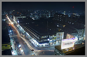 Night view of Dibrugarh.jpg