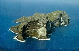 Aerial view of Nihoa