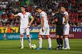 Nikola Vukčević, Stefan Mugoša & Marko Bakić, Czech Rp.-Montenegro EURO 2020 QR 10-06-2019.jpg