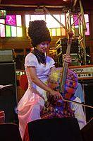 Nina Garenetska (DakhaBrakha) (Haldern Pop 2013) IMGP6678 smial wp.jpg