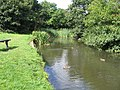 No boats, please, ducks only on this canal - geograph.org.uk - 952475.jpg