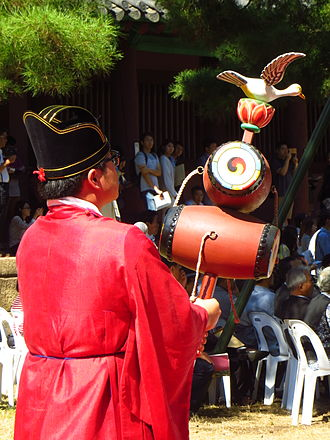 Seokjeon Daeje - Musician with Nodo drums