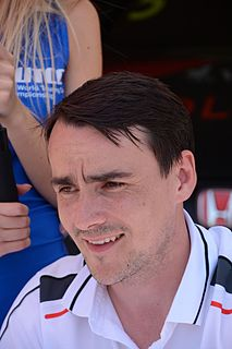 Norbert Michelisz Hungarian racing driver
