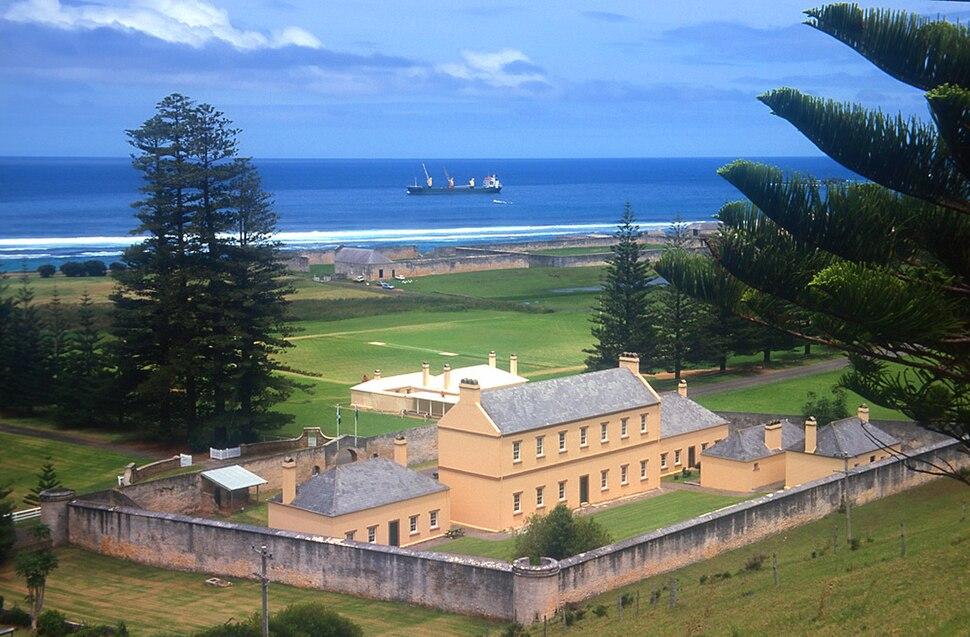 Norfolk Island jail1