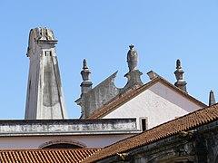 North wing rear view Alcobaça Monastery.jpg