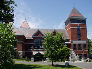 Northfield Mount Hermon School - Image: Northfield Mount Hermon School (Gill, MA) student center view